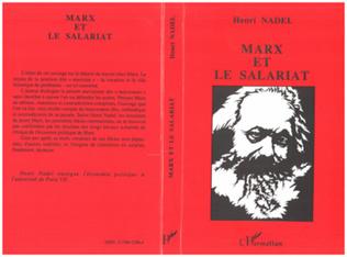 Couverture Marx et le salariat