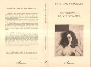 Couverture Dostoïevski, la vie vivante
