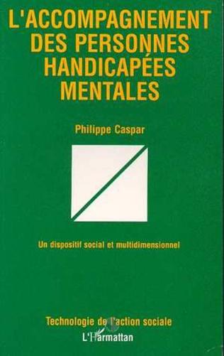 Couverture L'ACCOMPAGNEMENT DES PERSONNES HANDICAPÉES MENTALES