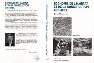 Couverture Economie de l'habitat et de la construction au Sahel