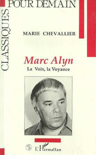 Couverture Marc Alyn