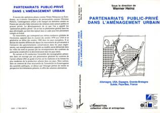 Couverture Partenariats public-privé dans l'aménagement urbain