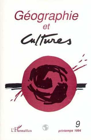 Couverture Géographie et cultures n°9