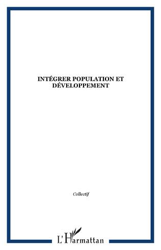 Couverture Intégrer population et développement