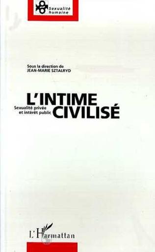Couverture L'intime civilisé