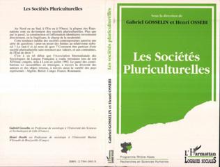 Couverture Les sociétés pluriculturelles