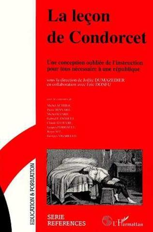 Couverture La leçon de Condorcet