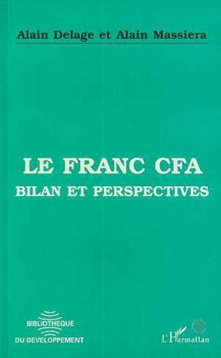 Couverture Le franc CFA