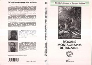 Couverture Paysans montagnards de Tanzanie