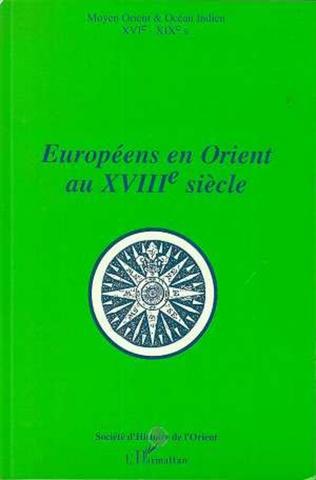 Couverture Européens en Orient au XVIIIè siècle