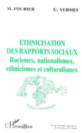 Couverture Ethnicisation des rapports sociaux