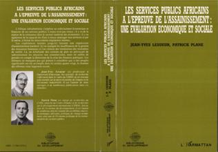 Couverture Les services publics africains à l'épreuve de l'assainissement : une évaluation économique et sociale