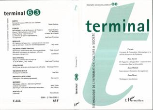 Couverture Terminal 63