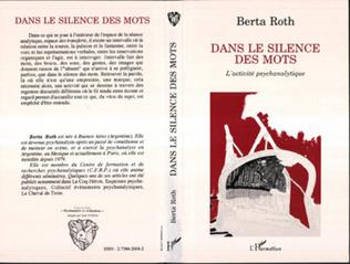 Couverture Dans le silence des mots