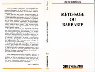 Couverture Métissage ou barbarie