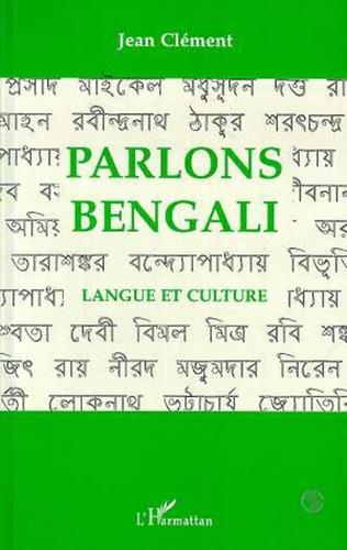 Couverture Parlons bengali