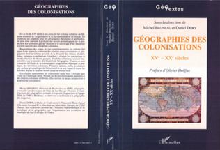 Couverture Géographies des colonisations XVè-XXè siècles