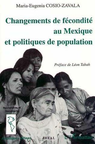 Couverture Changement de fécondité au Mexique et politiques de population