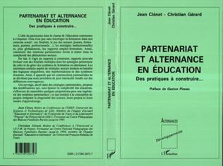 Couverture Partenariat et alternance en éducation