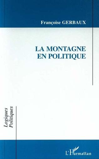 Couverture La montagne en politique
