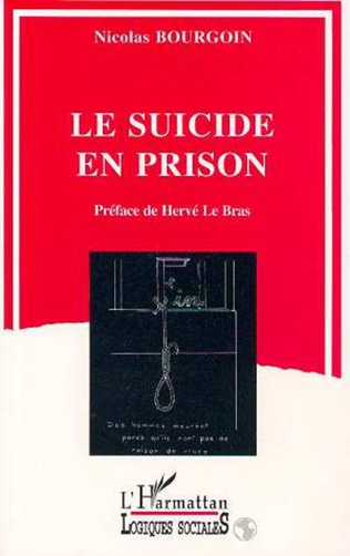 Couverture Le suicide en prison
