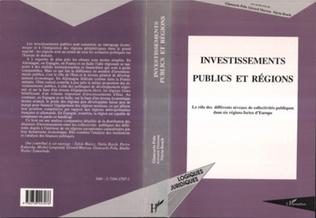Couverture Investissements publics et régions