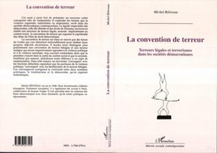 Couverture La convention de terreur