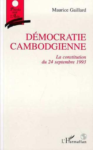 Couverture Démocratie cambodgienne