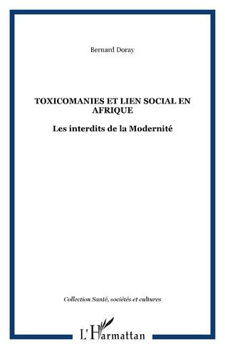 Couverture Toxicomanies et lien social en Afrique
