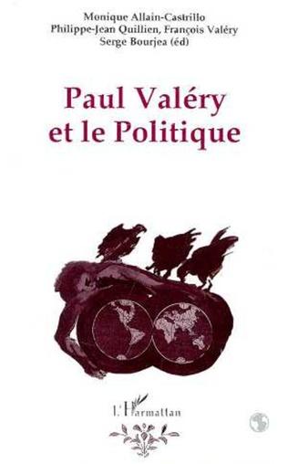 Couverture Paul Valéry et le politique