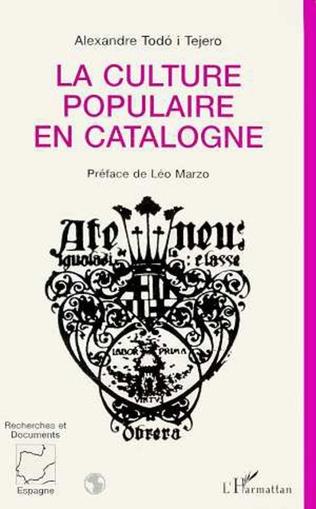 Couverture La culture populaire en Catalogne