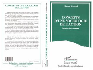 Couverture Concepts d'une sociologie de l'action