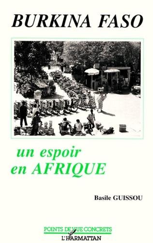 Couverture Burkina-Faso, un espoir en Afrique