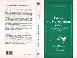 Couverture PILOTER LE DÉVELOPPEMENT SOCIAL