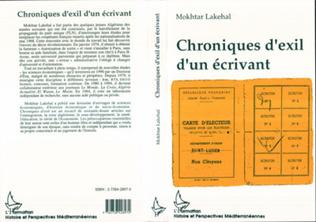 Couverture Chroniques d'exil d'un écrivant