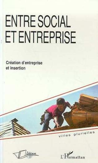 Couverture Entre social et entreprise