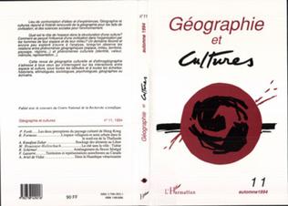 Couverture Géographie et cultures n°11