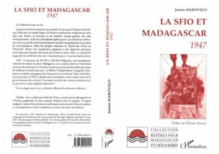 Couverture La SFIO et Madagascar 1947