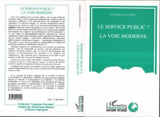 Couverture Le service public ?