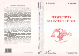 Couverture Perspectives de l'interculturel