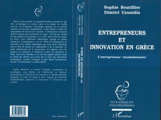 Couverture Entrepreneurs et innovation en Grèce