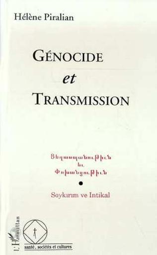 Couverture Génocide et transmission
