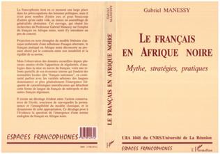 Couverture Les Français en Afrique Noire