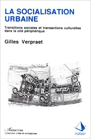 Couverture La socialisation urbaine