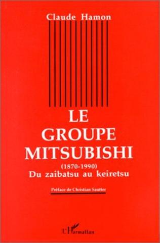 Couverture Le groupe Mitsubishi