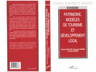 Couverture Patrimoine, modèles de tourisme et développement local