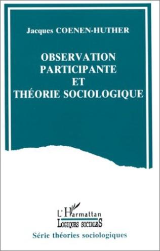 Couverture Observation participante et théorie sociologique