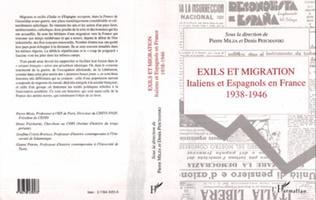 Couverture Exils et migrations