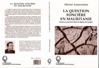 Couverture La question foncière en Mauritanie