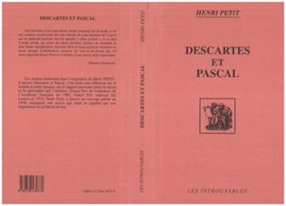 Couverture Descartes et Pascal